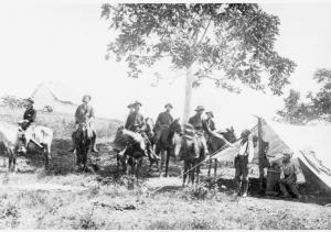 Signal Corps Telephone Tent - Cuba 1898