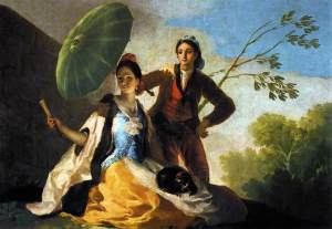 franciscogoya_the_parasol
