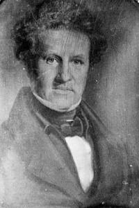 Dr. John Wilson, Circa 1842 Daguerreotype, Former Highwayman Captain Thunderbolt